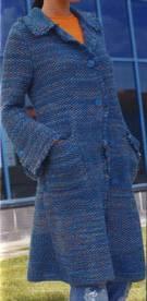 Cómo hacer un abrigo tejido de punto