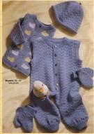 Tejer calcetines para bebé