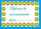 Diploma para niños