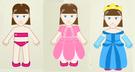 Juego para vestir princesas